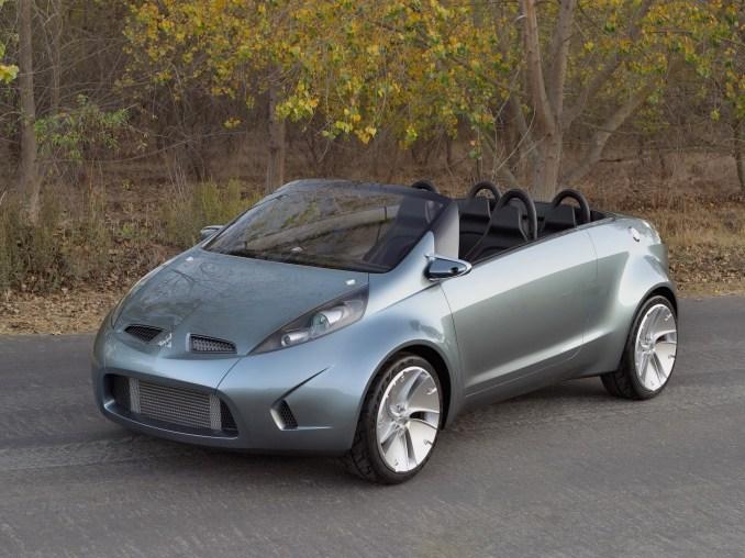 2003 Mitsubishi Tarmac Spyder Concept