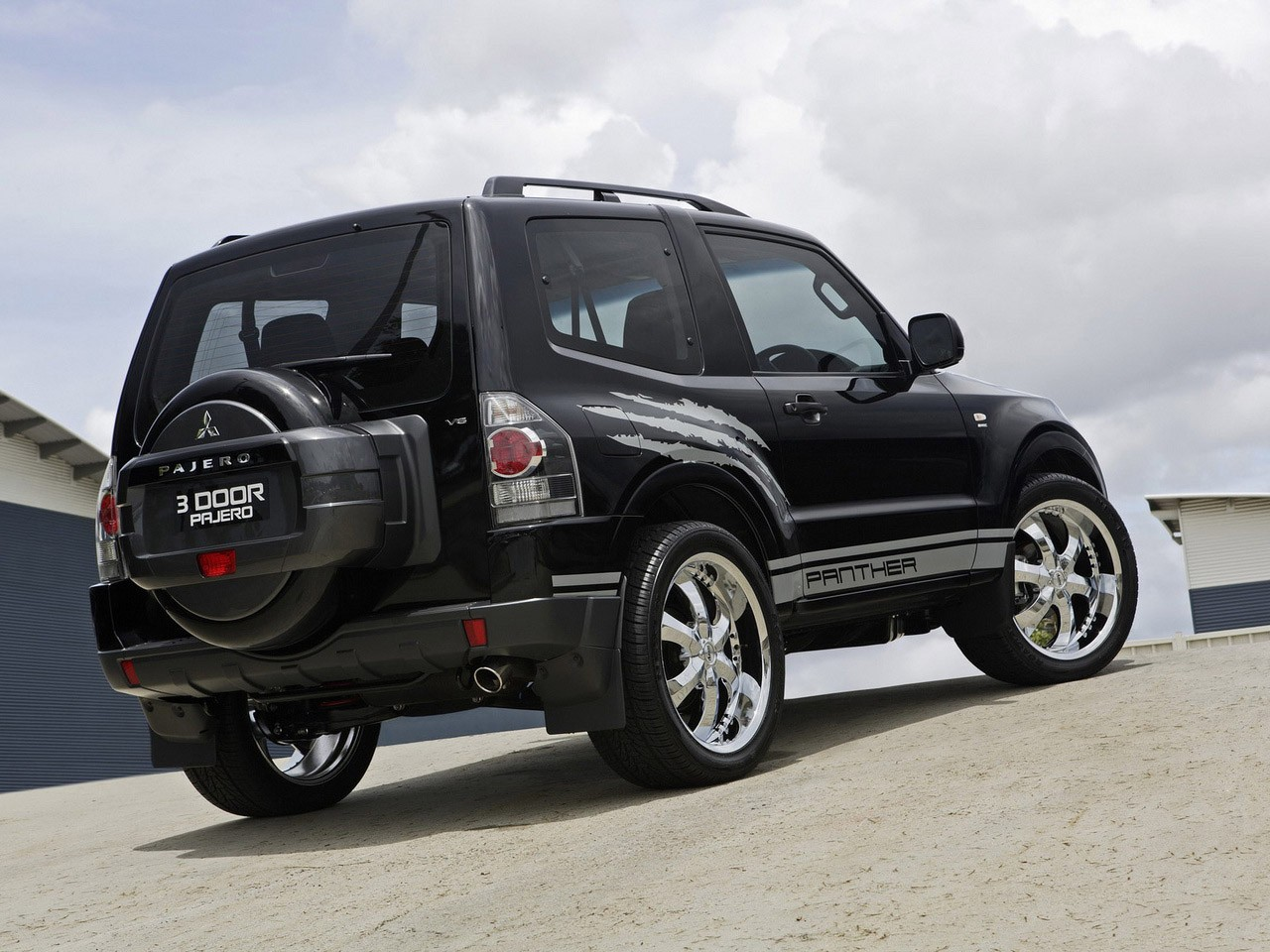 2008 Mitsubishi Pajero Panther Concept