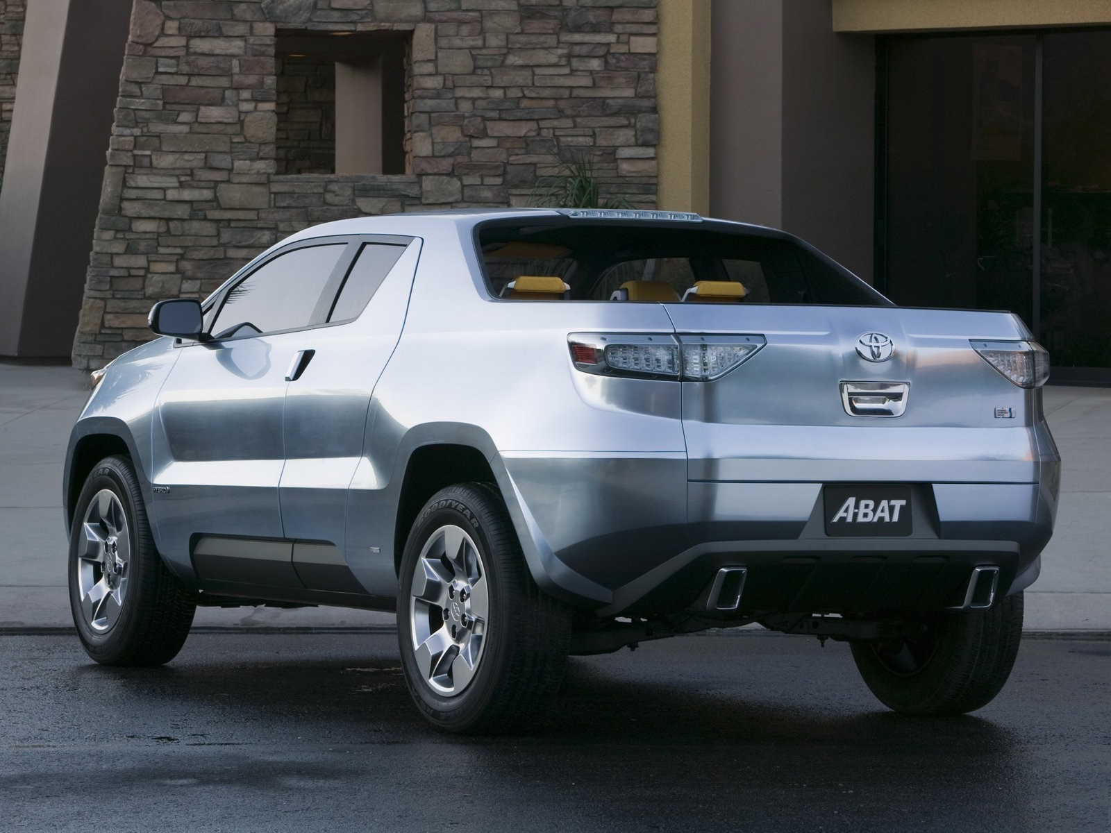2008 Toyota A-BAT Pick-up Concept