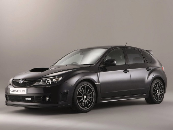 2010 Subaru Impreza Cosworth STI CS400 UK