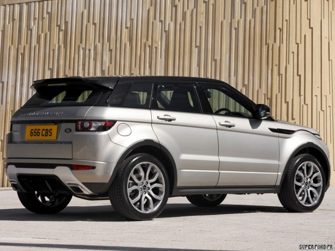 2011 Land Rover Range Rover Evoque SD4 Dynamic UK