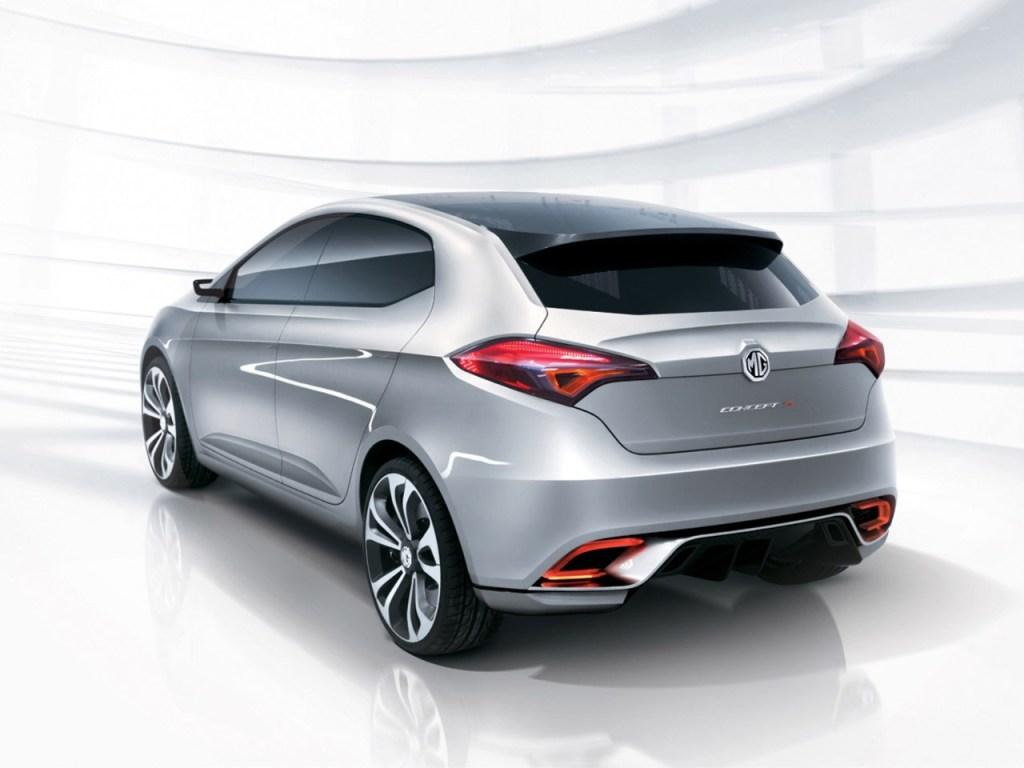 2011 MG 5 Concept