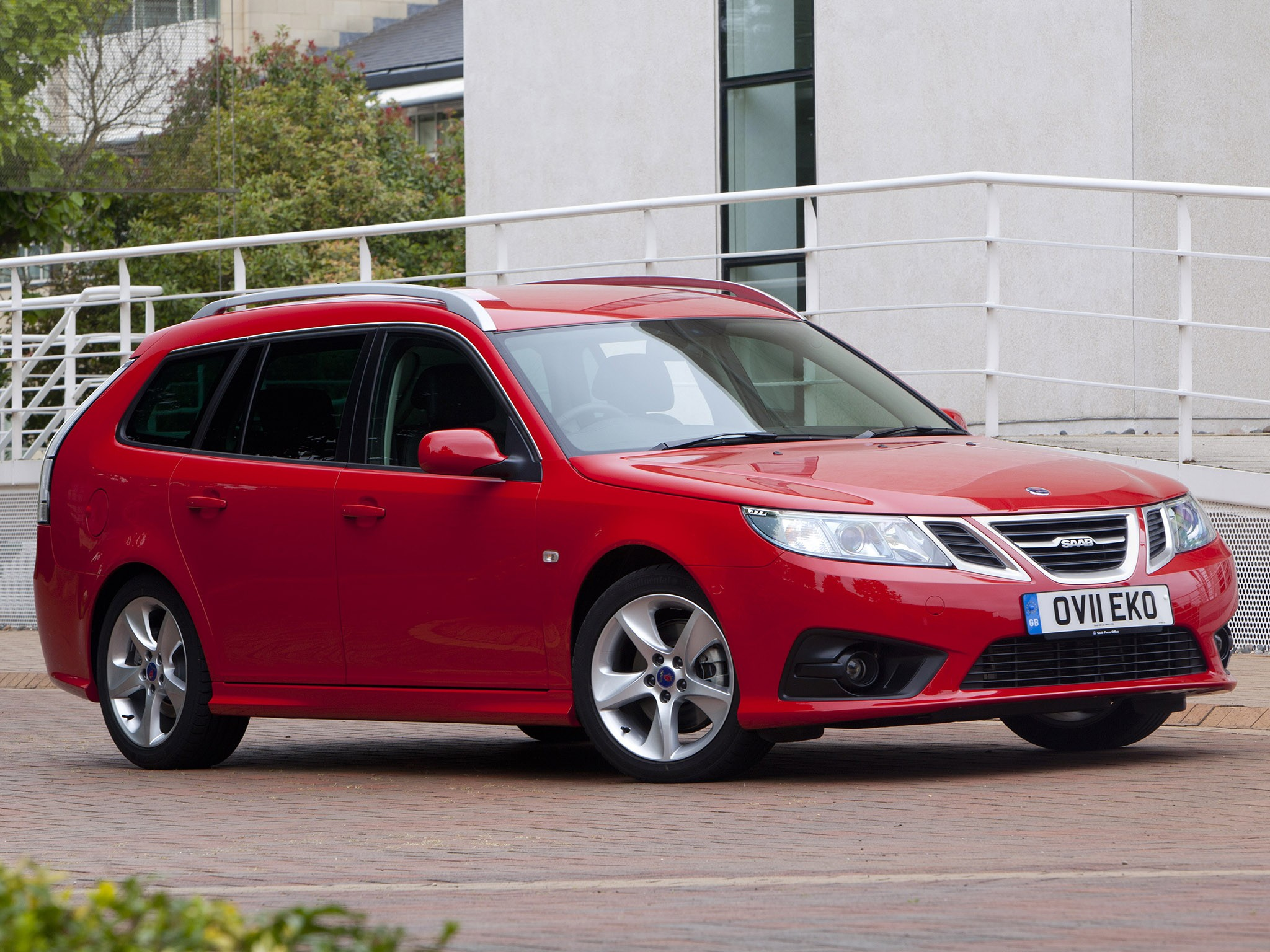 2011 Saab 9-3 Griffin Sport combi UK