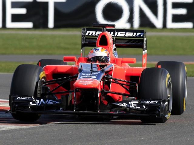 2012 Marussia F1 MR01