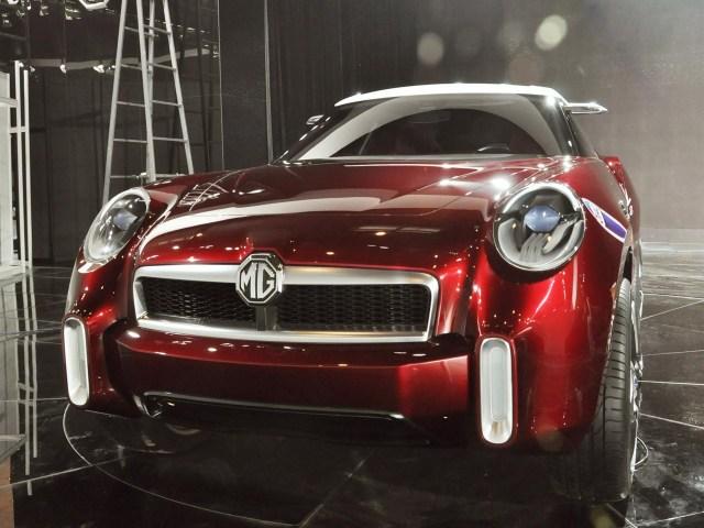 2012 MG Icon Concept