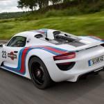 2012 Porsche 918 Spyder Prototype Martini Racing Design