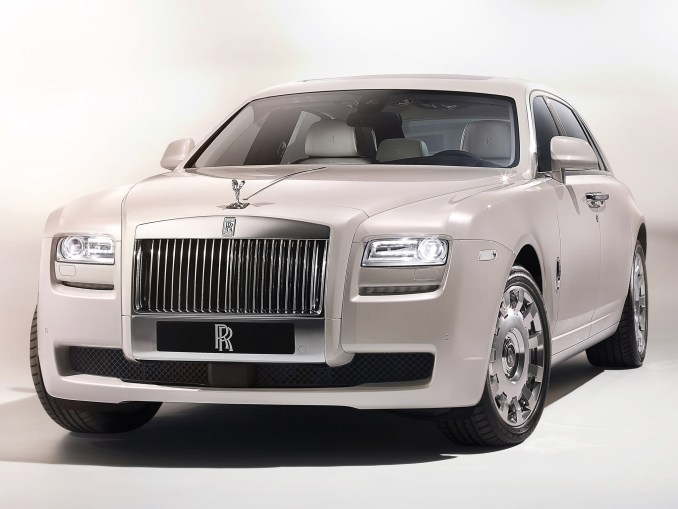 2012 Rolls Royce Ghost Six Senses Concept