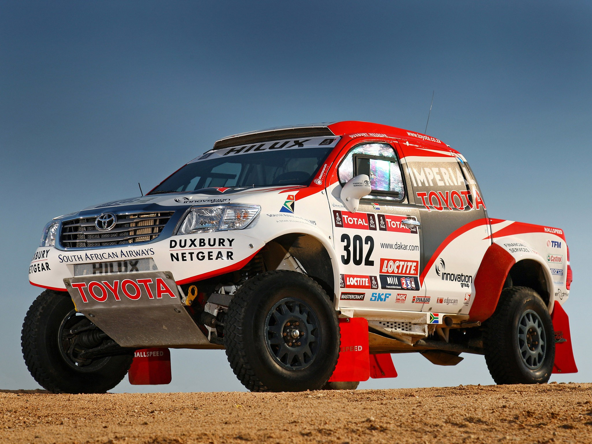 2012 Toyota Hilux Rally Car