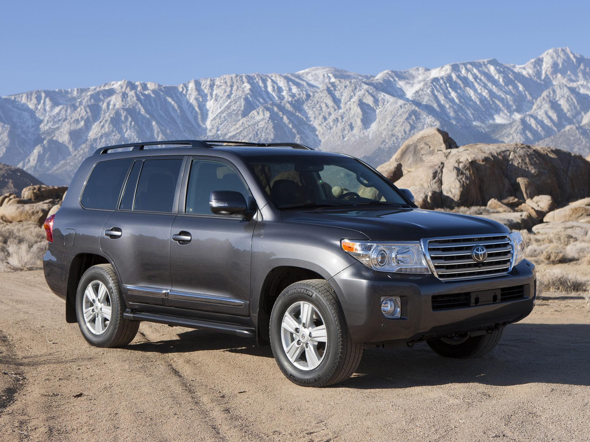 2012 Toyota Land Cruiser USA