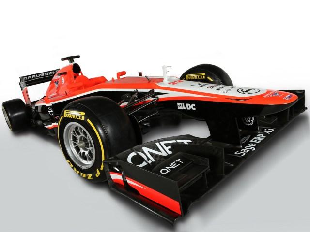 2013 Marussia F1 MR02