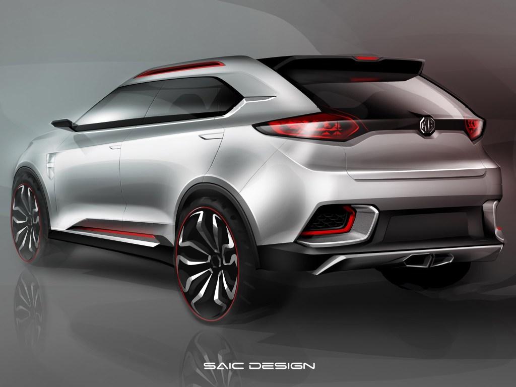 2013 MG CS Urban suv Concept