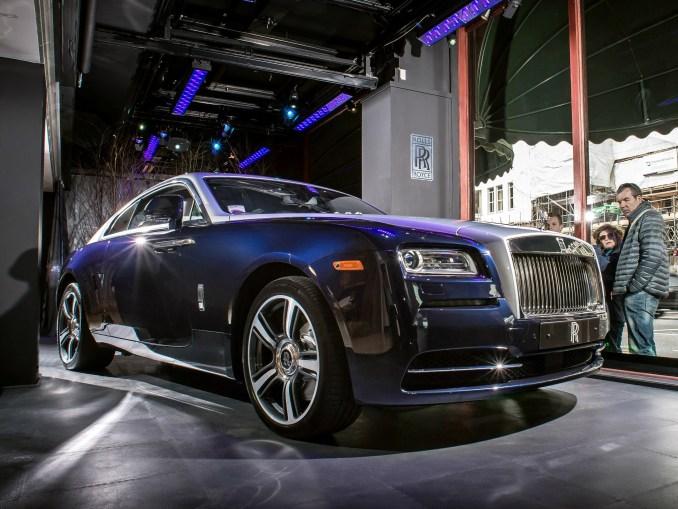 2013 Rolls Royce Wraith in Harrods Window