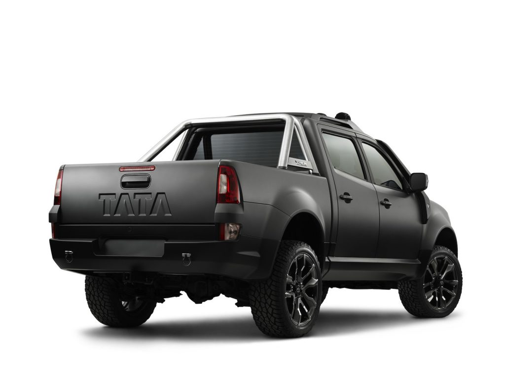 Tata Xenon Tuff Truck Concept by Fusion Automotive 2013