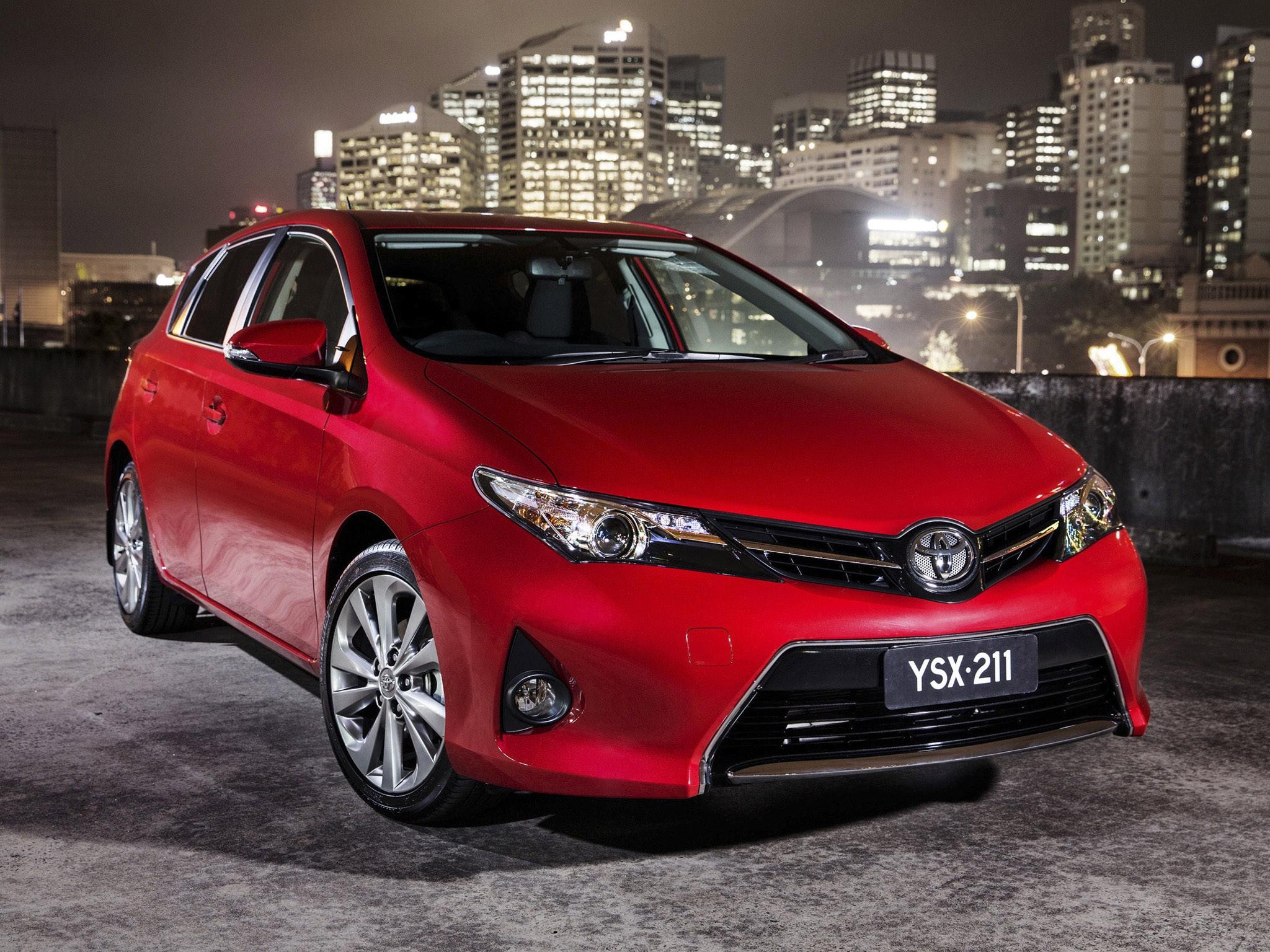 2013 Toyota Corolla Levin SX