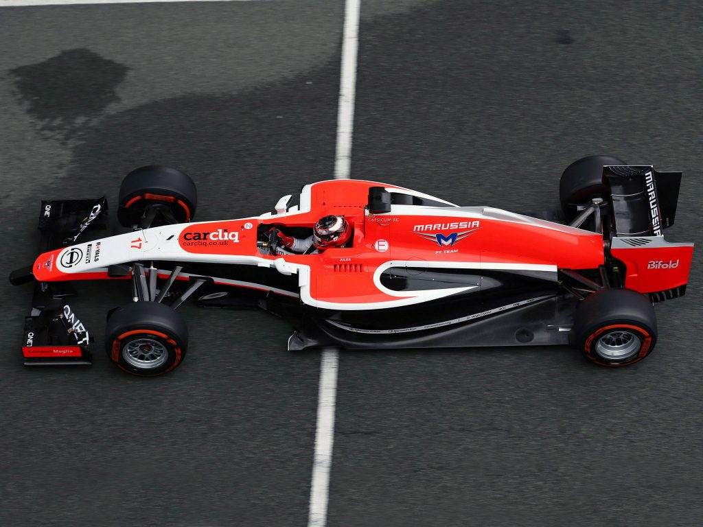 2014 Marussia F1 MR03