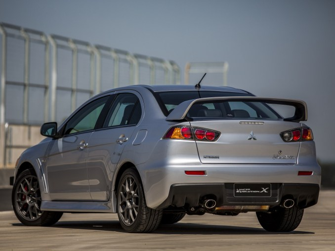 2014 Mitsubishi Lancer Evolution X John Easton