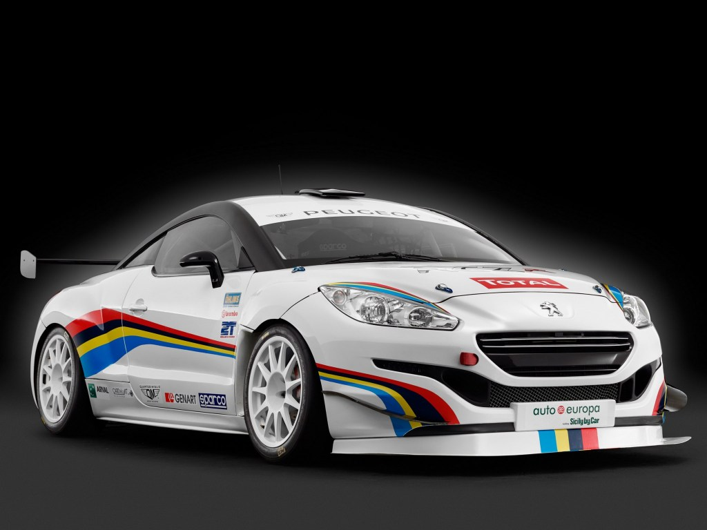 2014 Peugeot RCZ-R Racing