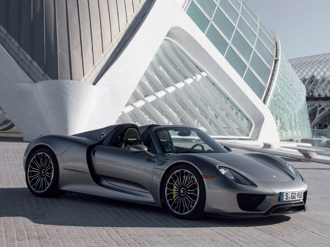 2014 Porsche 918 Spyder USA