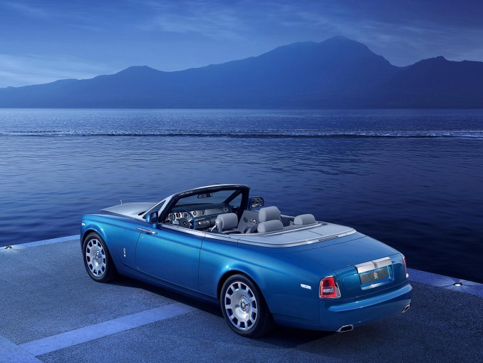 2014 Rolls Royce Phantom Drophead Coupe Waterspeed Collection