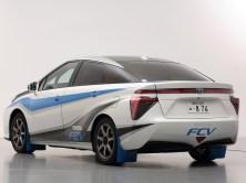 2014 Toyota FCV Rally Zero Car