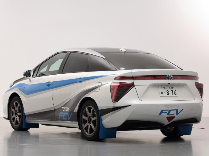 2014 Toyota FCV Rally Zero Car