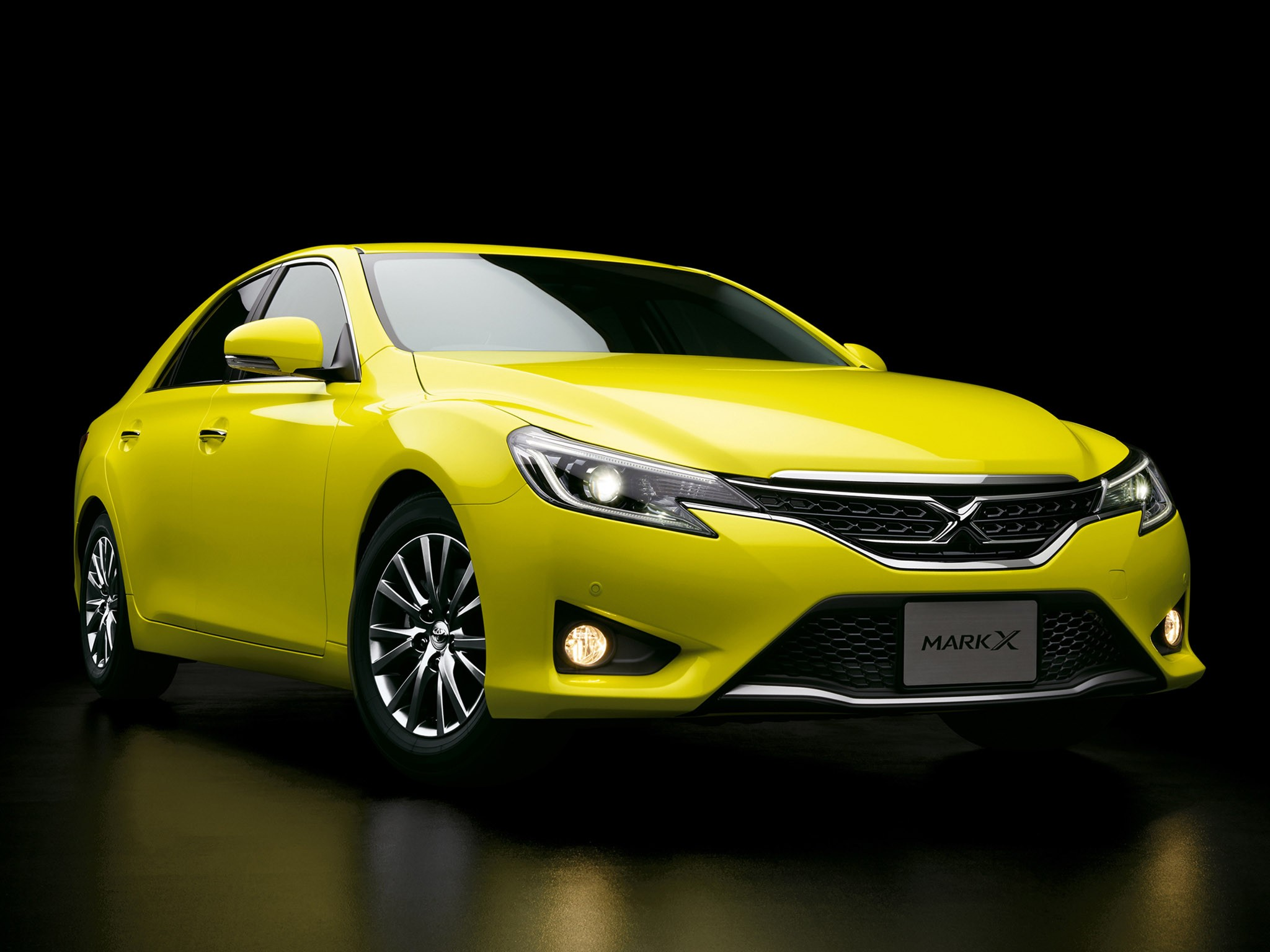 2014 Toyota Mark X 250G S Package Yellow Label GRX130