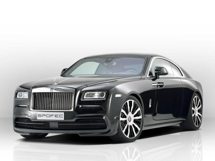 2015 Rolls Royce Wraith - Spofec