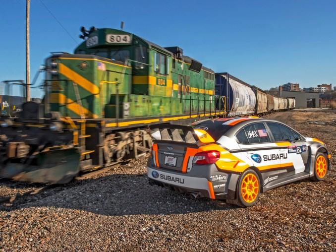 2015 Subaru WRX STI Rallycross