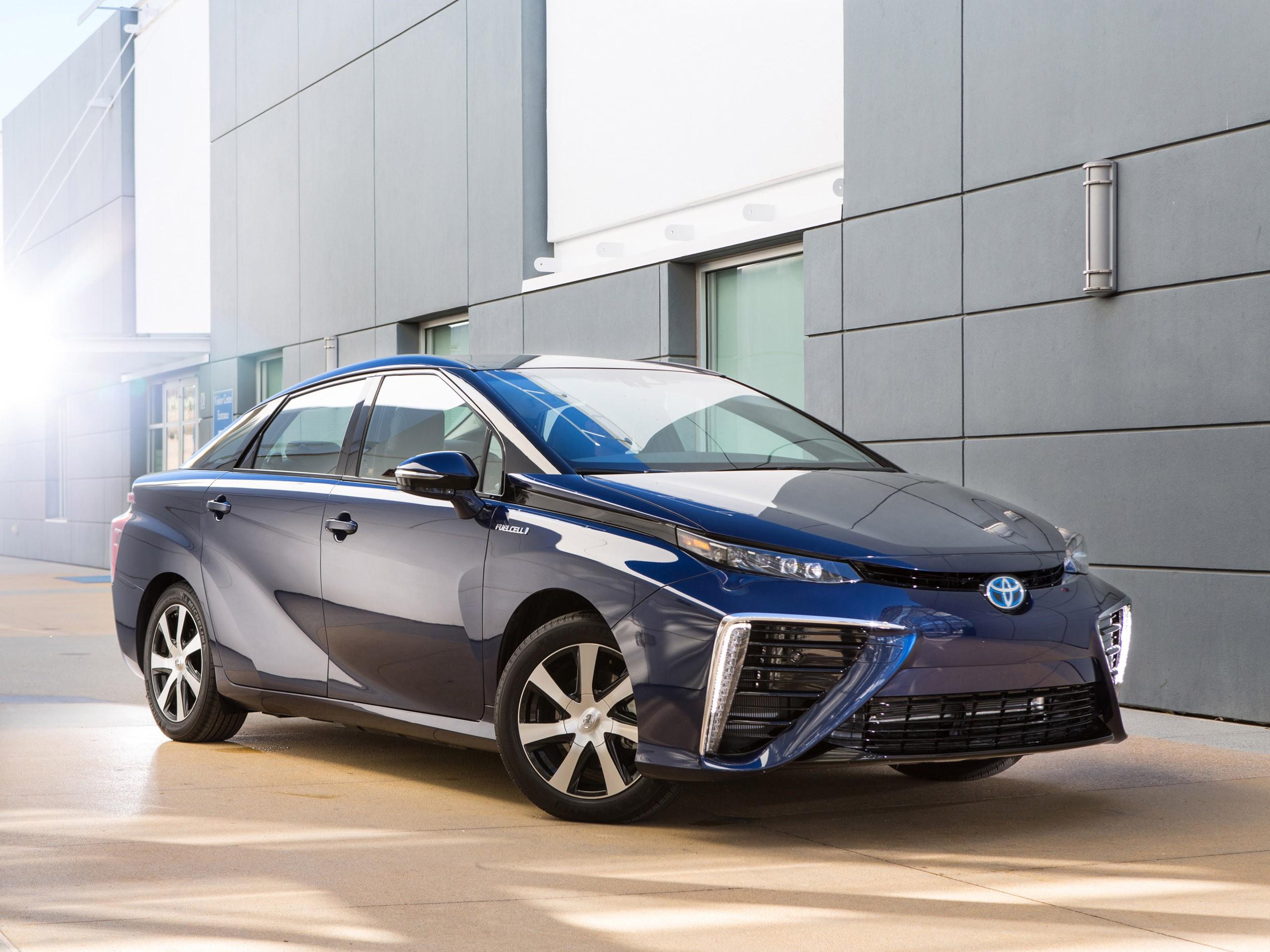 2015 Toyota FCV USA