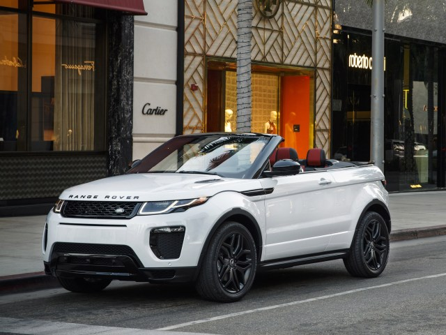 2016 Land Rover Range Rover Evoque Convertible USA