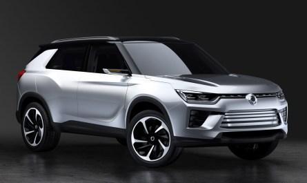 SsangYong SIV-2 Concept 2016