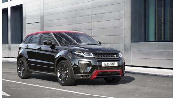 2017 Land Rover Range Rover Evoque Ember Edition