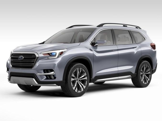 2017 Subaru Ascent SUV Concept