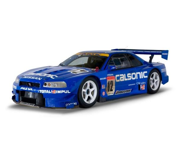 1999–2003 Super GT - Nissan Skyline GT-R JGTC
