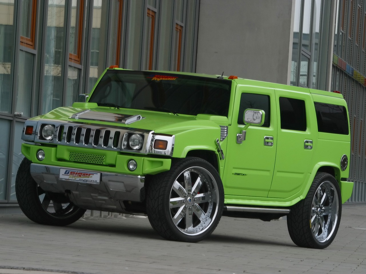 2005 Geigercars - Hummer H2 Maximum Green Kompressor