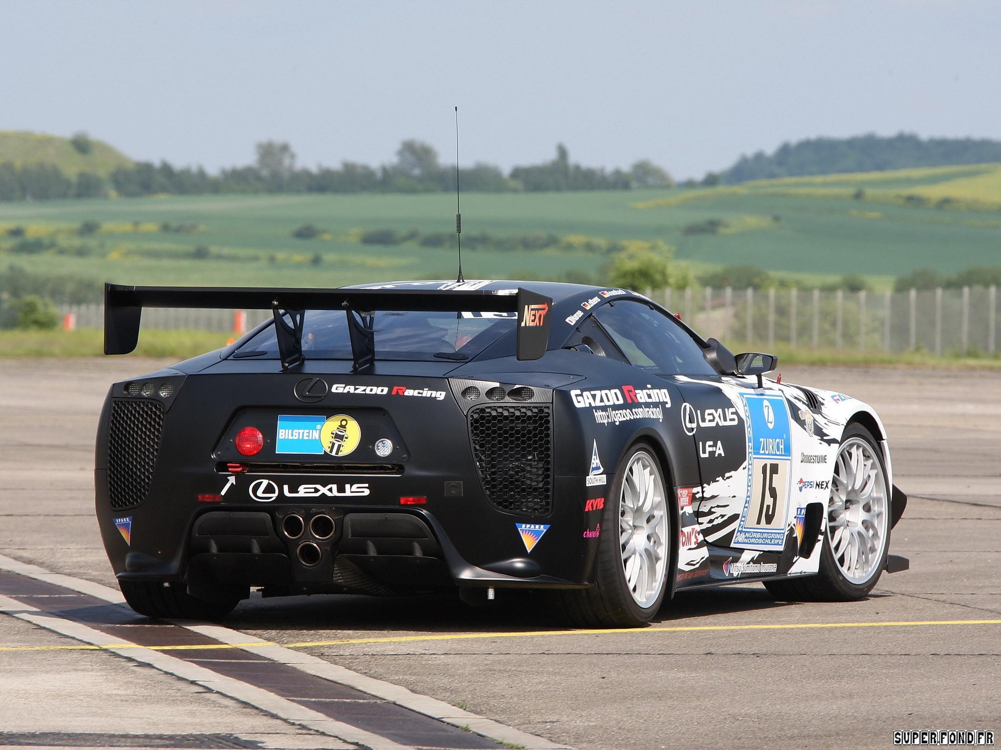 2009 Lexus LF-A Race Car