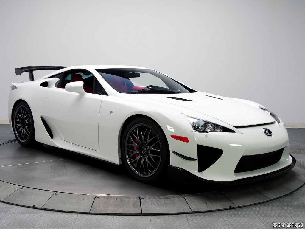 2010 Lexus LFA Nurburgring Performance Package USA
