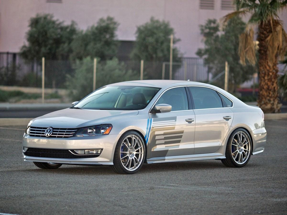 2011 H&R - Volkswagen Passat Project