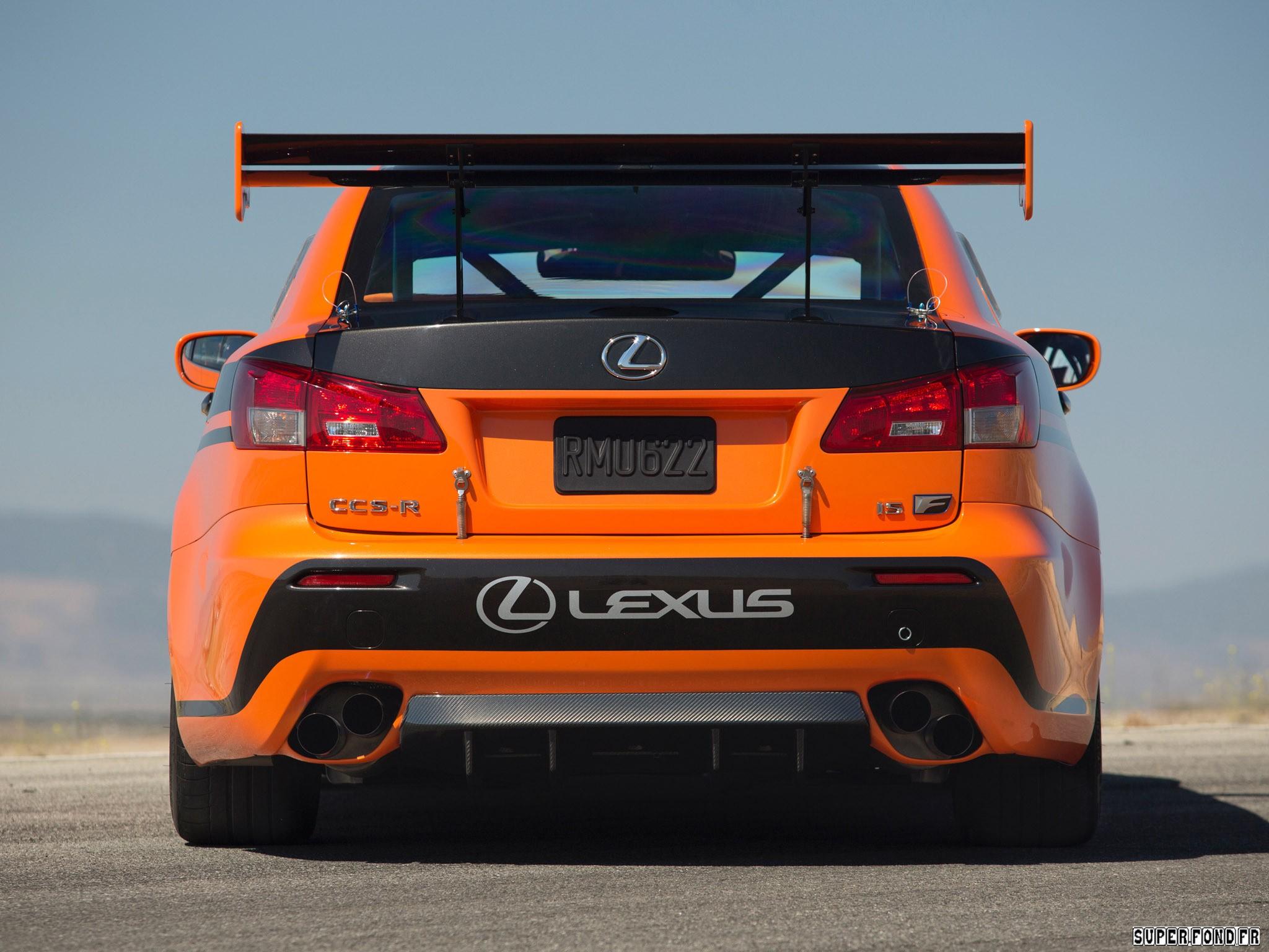 2011 Lexus IS-F CCS-R XE20