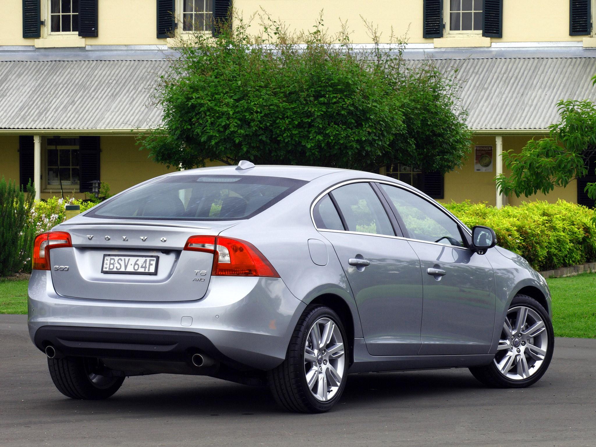2011 Volvo S60 T6 Australia