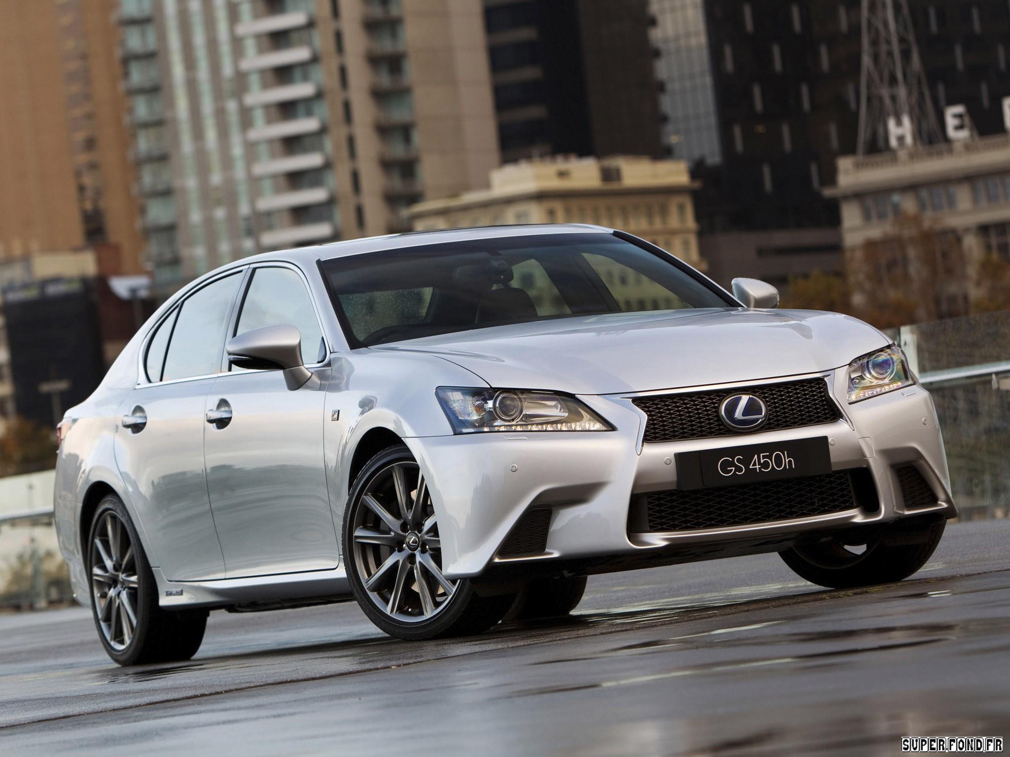 2012 Lexus GS 450h F-Sport Australia
