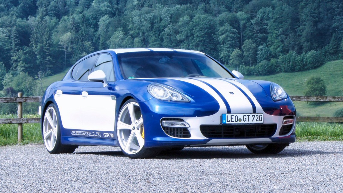 Gemballa Porsche Panamera GTP 720 – V8 4,8 litres de 720 chevaux