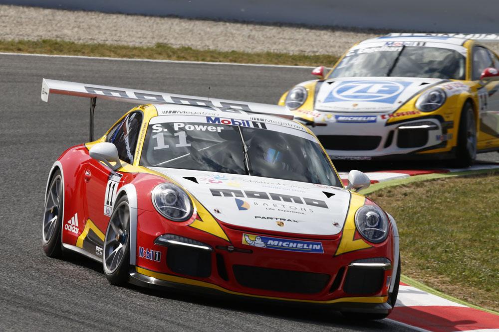 2015 Porsche Supercup - Barcelona - Sam Power