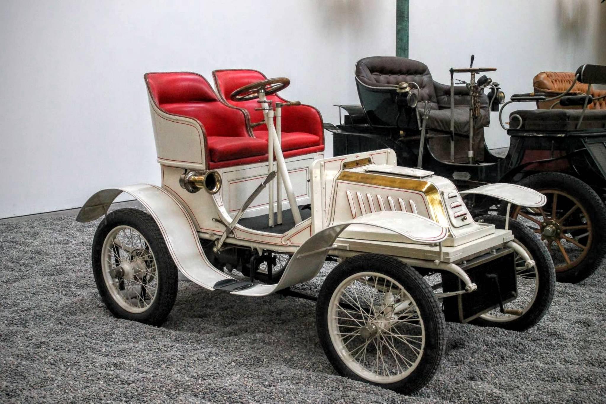 1903 DeDion Bouton Biplace s