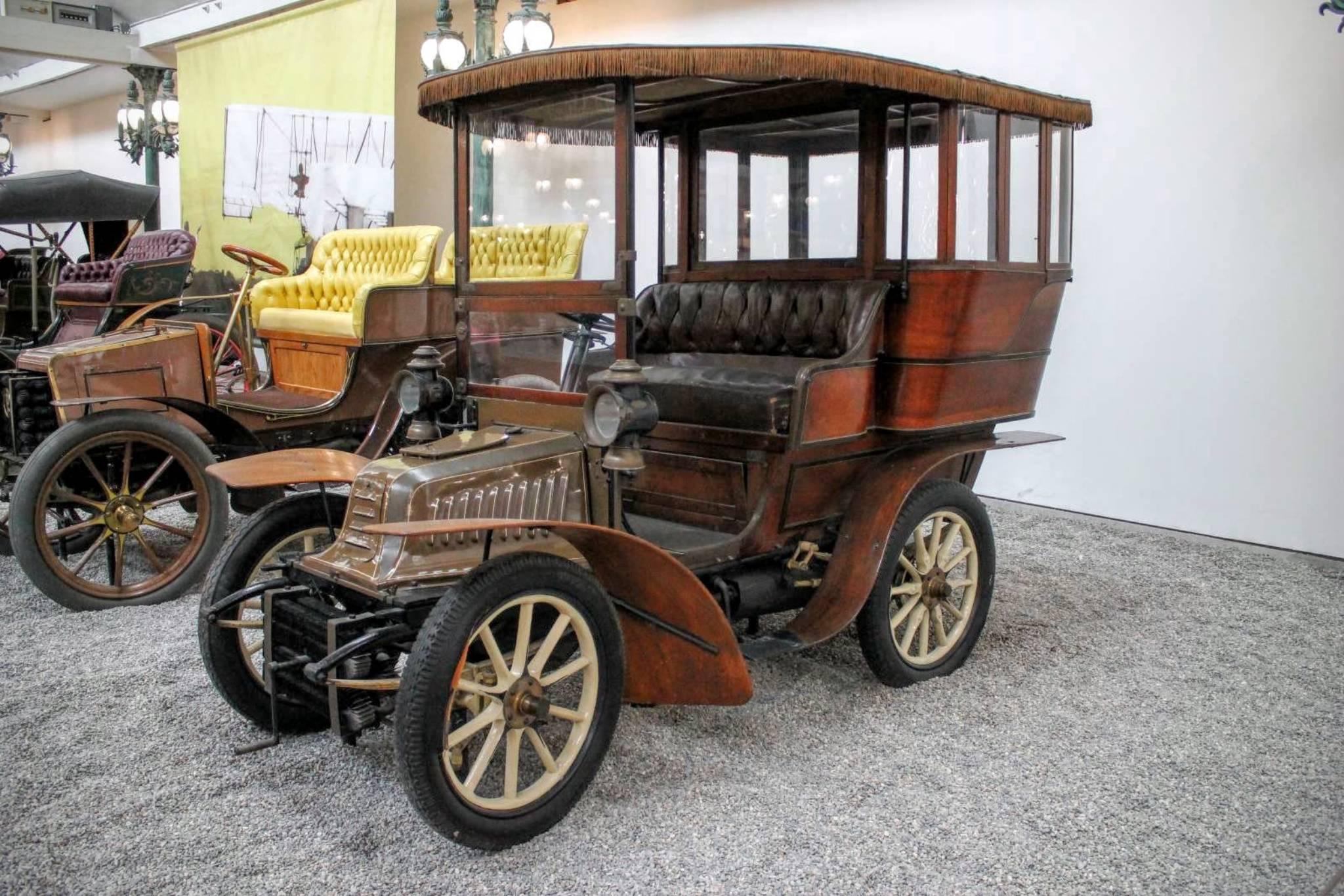 1903 Peugeot Tonneau Ferme Type 56