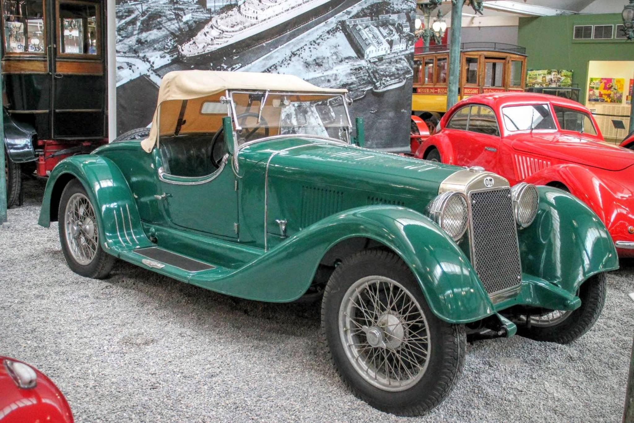 1931 OM Roadster 665 MM