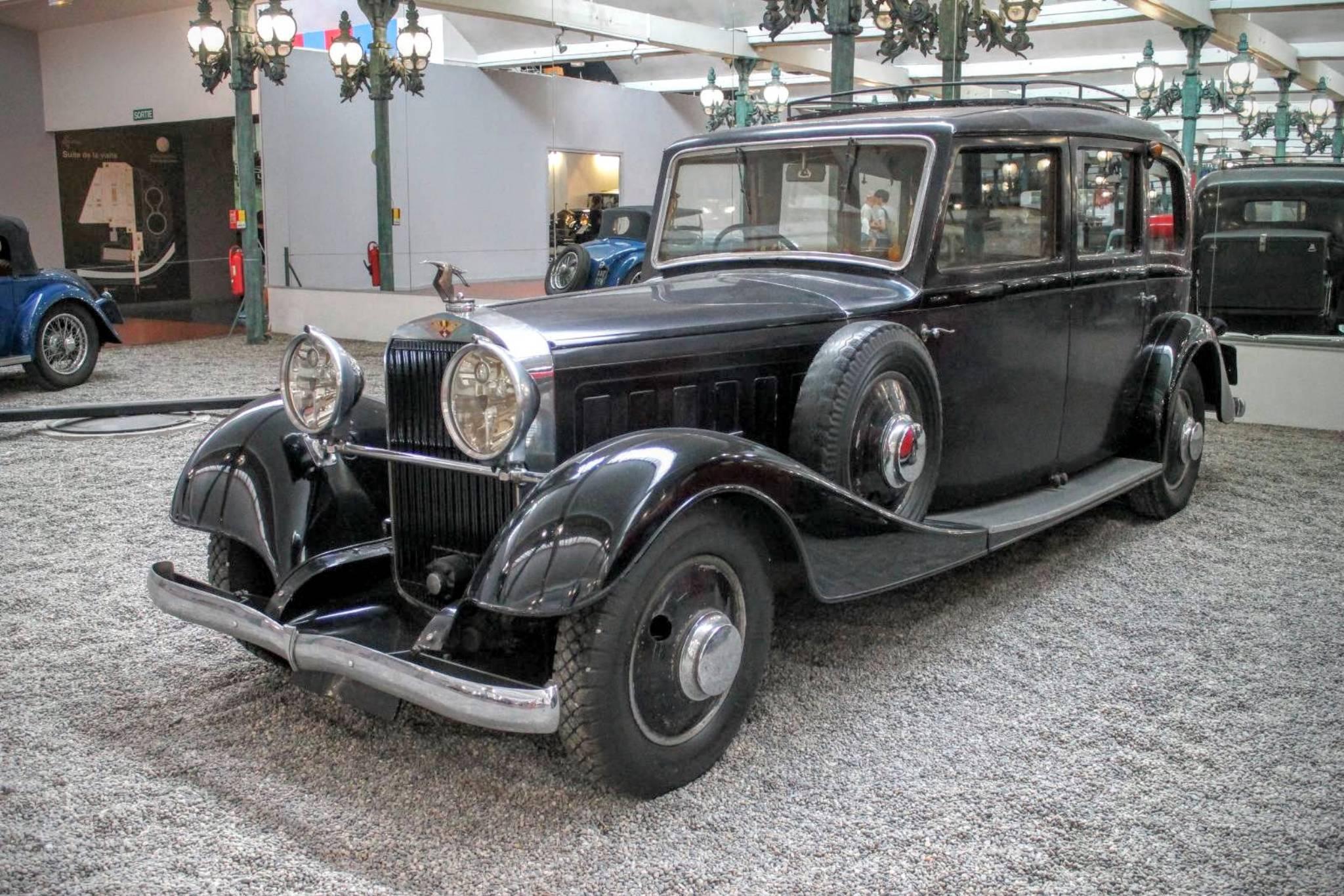 1935 Hispano Suiza Limousine K6