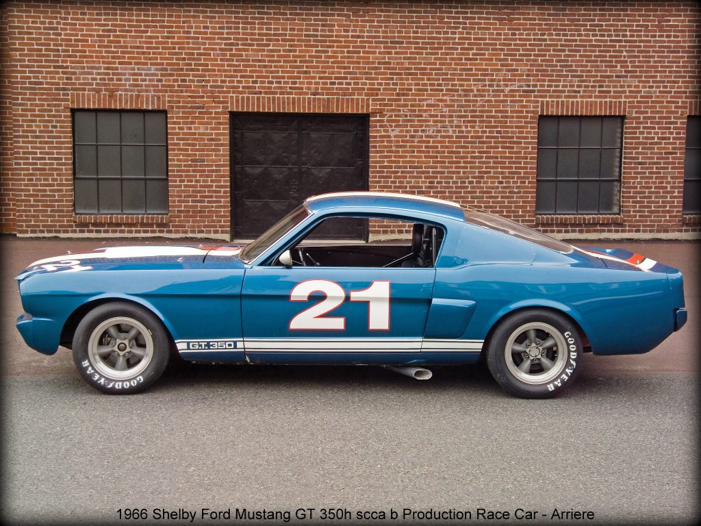 1966 Shelby Ford Mustang GT350 H scca B-Production Race Car