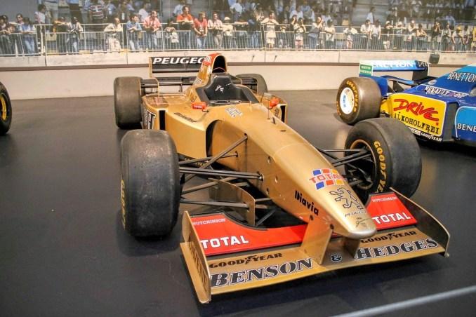 1995 Jordan Peugeot F1