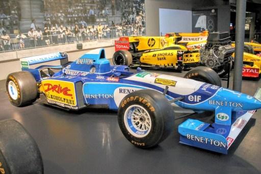 Renault F1 Type B195 Benetton Schumacher 1995